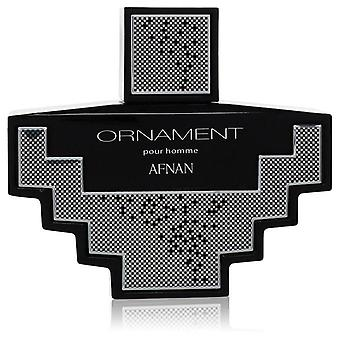 Afnan Ornament Eau De Parfum Spray (unboxed) By Afnan 3.4 oz Eau De Parfum Spray