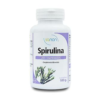 Spirulina 200 tablets