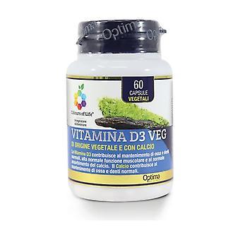 Vitamin D3 Veg 60 capsules of 500mg