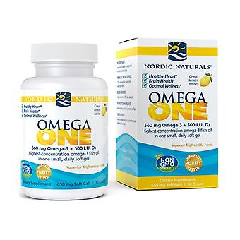 Omega ONE, 560mg Lemon 30 softgels