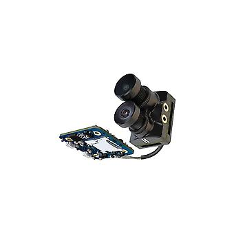 Recording Camera With Dual Lens