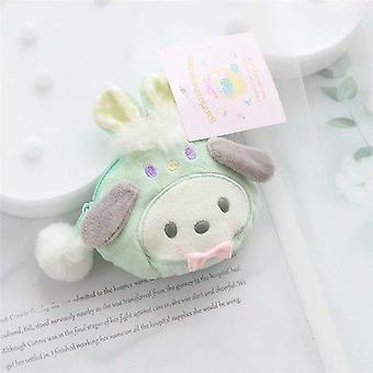 Kaninchen Melodie Puppe Plüsch Geldbörse Cartoon große Ohr Hund Spielzeug Tasche Mini Brieftasche