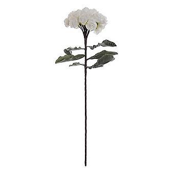Dekorativ blomma Dekodonia Vit Rosa polyeten (25 x 80 cm)