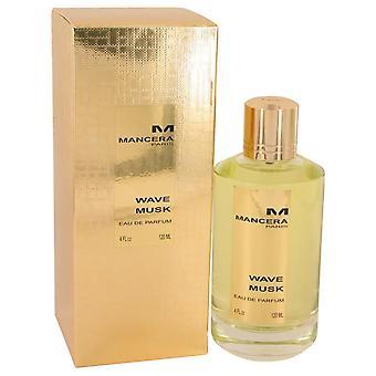 Mancera Wave Musk Eau De Parfum Spray (Unisex) door Mancera 4 oz Eau De Toilette Spray
