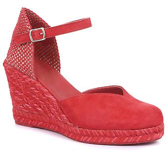 Jones Bootmaker Womens Arabella Wedge Sandálias