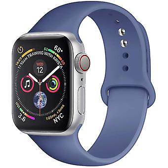 Silicone Strap Rubber Band Sport Bracelet Belt Apple Watch