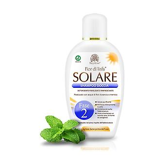 Fior di Linfa Solare Phase 2 - Shower Shampoo with Orange Blossom and Menthol 200 ml