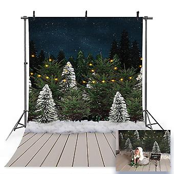 Snow Portrait Backdrop For Photography Snowflake, Background For Photo