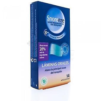 Snoreeze Oral Blades Snoring 14 pcs