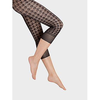 Wolford Dylan Capri Fishnet Footless Tights