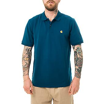 Polo homme carhartt wip s/s chase pique polo i023807.888