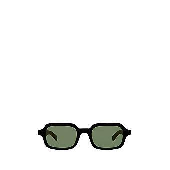 Garrett Leight NAVARRE SUN black unisex sunglasses