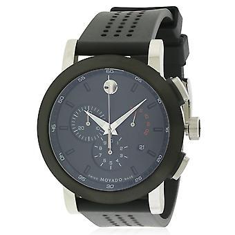 Movado Museum Chronograph Rubber Mens Watch 0606545