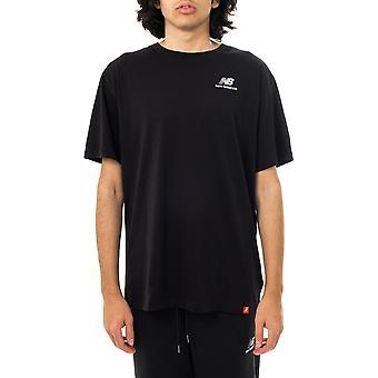 T-shirt homme nouvel équilibre essentiels brodés tee mt11592bk