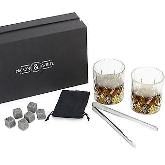 whisky glass gave sett | &M&W