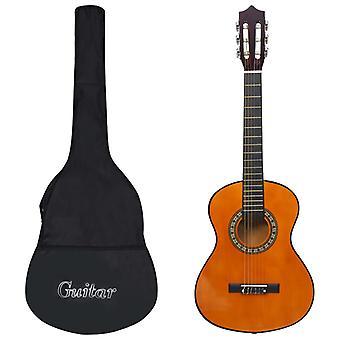 """vidaXL klassinen kitara aloittelijoille ja lapsille laukun kanssa 1/2 34"""""""