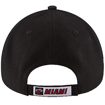 New Era Unisex Adults Miami Heat The League NBA 9Forty Cap Hat - Black