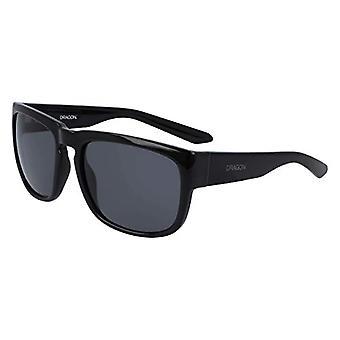 Dragon Dr Rune Sunglasses, Shiny Black, 58mm, 18mm, 135mm Men's