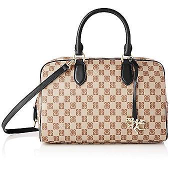 piero guidi Top Handles Bag, Women's Handbag, Black (Black), 31x20x15 cm (W x H x L)