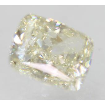 Sertifioitu 0,73 Karat I Väri VVS1 Tyyny Natural Loose Diamond 5.39x4.54mm