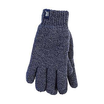 Pánske zimné fleece lemované termálne rukavice