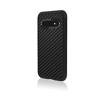 Black Rock Robust Case Real Carbon för Samsung Galaxy S10 Black [2090RRC02]