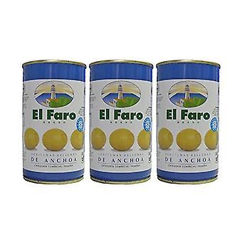 Oliver El Faro Fylld med ansjovis (3 x 50 g)