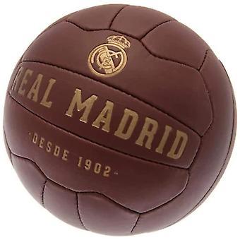 Real Madrid FC Faux Lær Fotball Størrelse 5