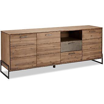 Ibbe Design Mallorca Sideboard Large, 219x50x87 cm