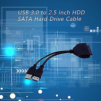Usb 3.0 To 2.5 Inch Hdd Sata Hard Drive Cable Adapter For Sata3.0 Ssd&hdd