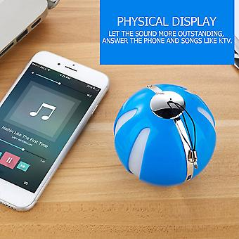 Q7 New Wireless Bluetooth Speakers With Flashing Lights Outdoor Portable