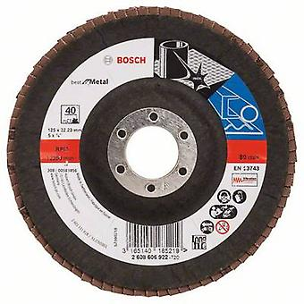 Bosch Accessories 2608606922 Compartments grinding wheel Diameter 125 mm Inside diameter 22.23 mm Grain 40 1 pc(s)