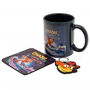Crash Bandicoot 4 Mug & Coaster Set