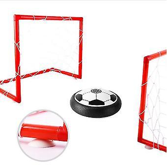 Jogo de bola de futebol com 2 gols de suspensão elétrica indoor futebol esportivo brinquedo (set1)