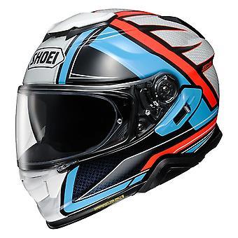 Shoei GT Air 2 Haste TC2 Motorcykel Hjälm Blå