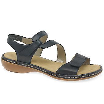 Rieker alalla naisten Riptape sandaalit