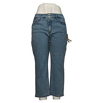 NYDJ Jeans Femme Reg Cool Embrace Skinny Crop Blue A377691