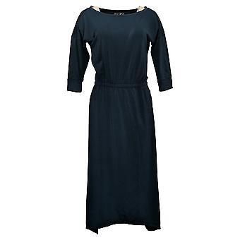 Brittany Humble Dress B.E. Ready Dolman Sleeve Midi Blue 753827