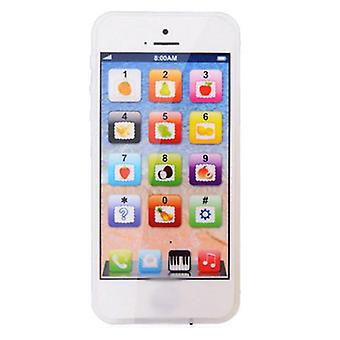Baby Simulation Mobile Phone Toy Kid English Learning Educational Tools