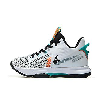 Men Breathable Basketball Shoes Man'S Shockproof High Top Sneakers Jz005