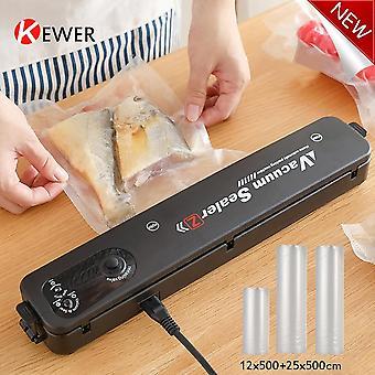 KEWER New Electric Vacuum Sealer Sealer Bags Sealing Machine Packaing Min Kitchen Sous Vide Product