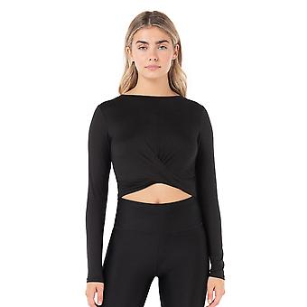 Kyodan Womens Day-To-Day Crossover Long Sleeve Top