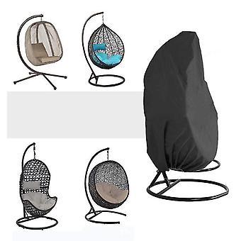 Homemiyn Qees البيض كرسي تغطية كرسي الفناء في الهواء الطلق تغطية الثقيلة شنقا البيض سوينغ كرسي يغطي الغبار تغطية الأثاث حديقة في الهواء الطلق غطاء للماء