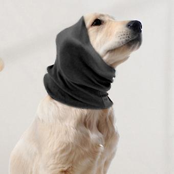 Hond Rustige Oorhoezen Voor Gehoorbescherming, Kalmerende Oor Snood Muffs Voor Honden / Katten - Capuchon Voor Angst Verlichting / Warm