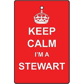 Houd kalm, ik ben een luchtverfrisser Stewart