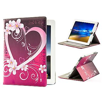 "Design book PU leather case cover for Samsung Galaxy Tab S 10.5"" tablet - Love Heart"