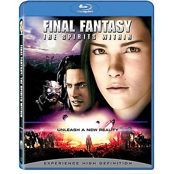 Final Fantasy: Gli S.U.A. Spirits Within [BLU-RAY] importare