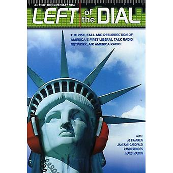 Left of the Dial [DVD] USA import