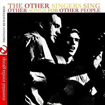 Other Singers - Sing Other Songs for Other People [CD] USA import