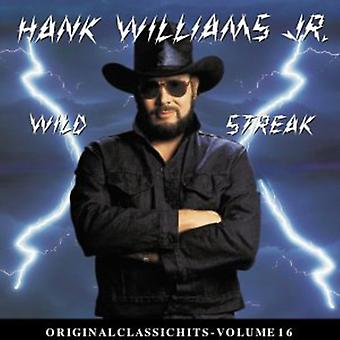 Hank Williams Jr. - Wild Streak [CD] USA import